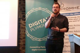 Digital Plymouth Dec 16 Sponsor Neil