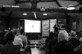 A digital plymouth talk black and white