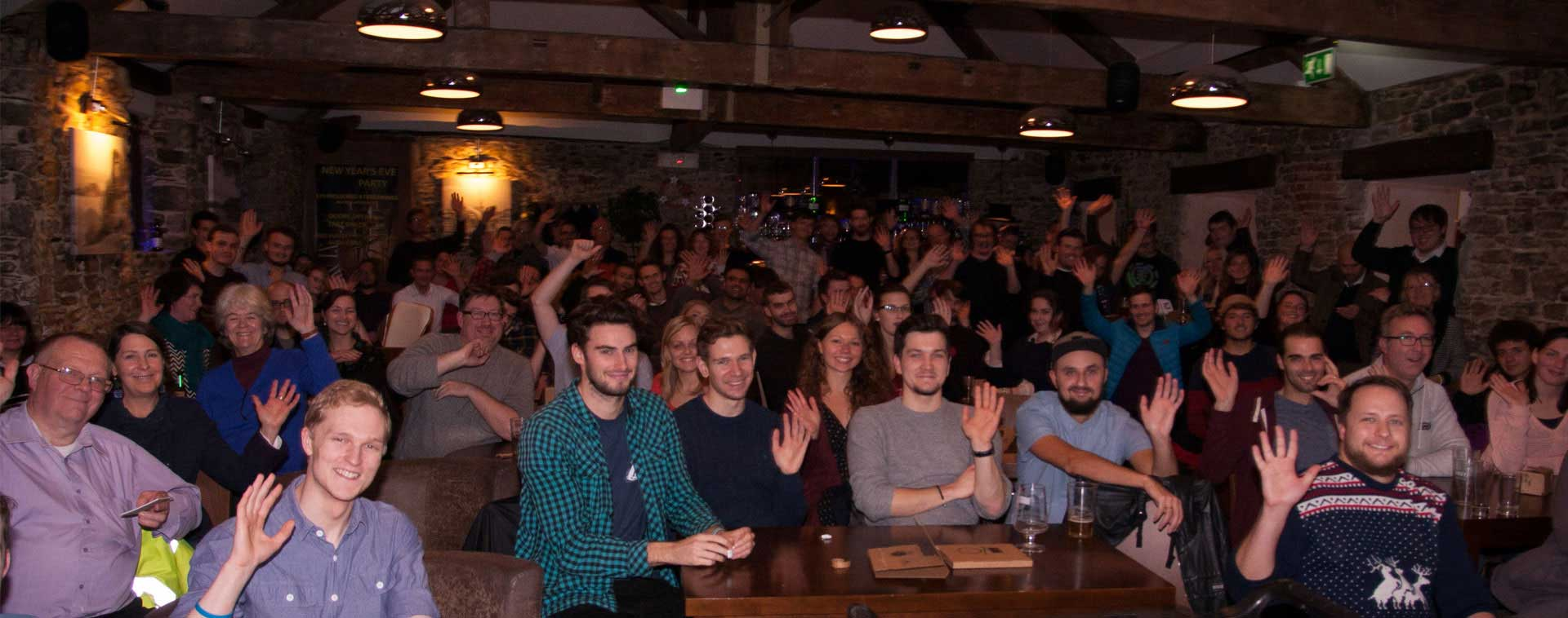 Crowd at December Meetup